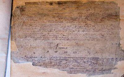 Beispiel Kirchenbuch von 1586